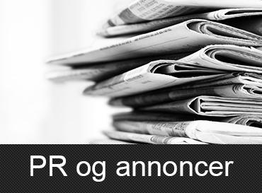 PR og annoncer